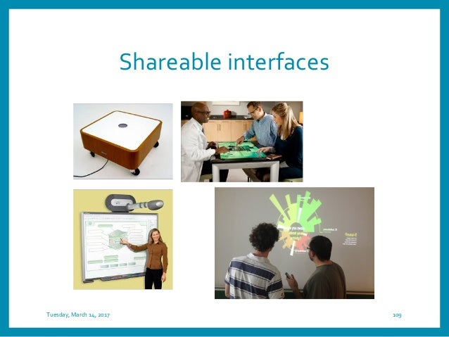 Wearable interfaces Tuesday, March 14, 2017 111