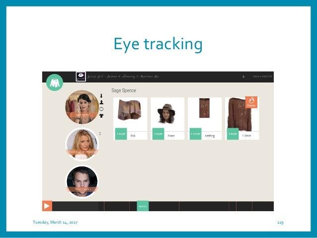 Eye tracking 131Sebastian Kerckhof -T-Commerce in a second screen application
