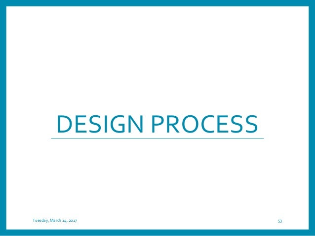 User-centered Rapid Prototyping Design Tuesday, March 14, 2017 54 EMPIRICAL evaluation in REALISTIC settings Implement Des...