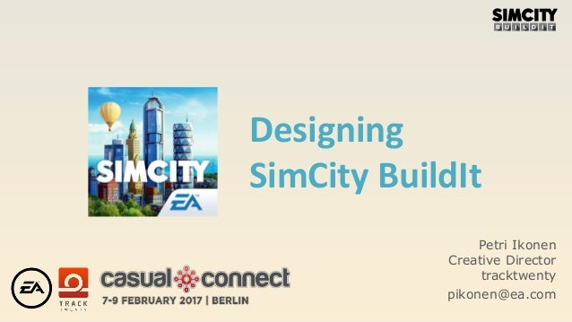 Designing SimCity BuildIt │Petri Ikonen