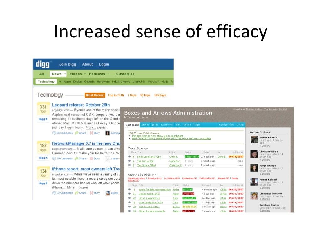 10015fa8ea03 Increased sense of efficacy