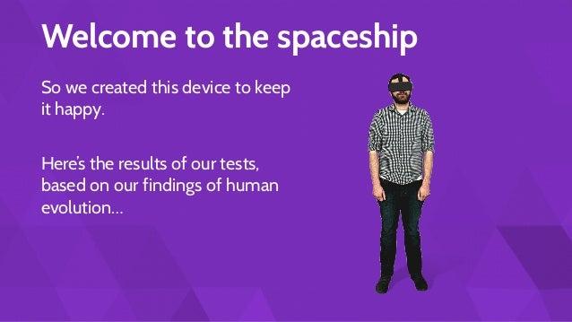 Designing VR For Humans - Mike Alger Slide 3