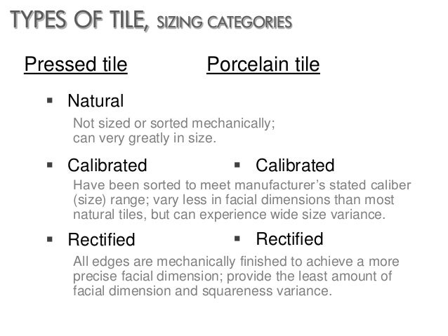 Designing With Tile