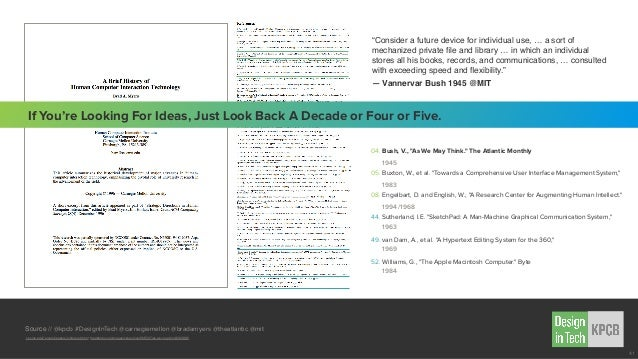 Source // @kpcb #DesignInTech @carnegiemellon @bradamyers @theatlantic @mit cs.cmu.edu/~amulet/papers/uihistory.tr.html th...