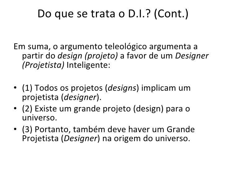 Design Inteligente Slide 3