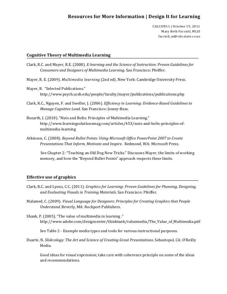 ResourcesforMoreInformation|DesignItforLearning                                                                  ...