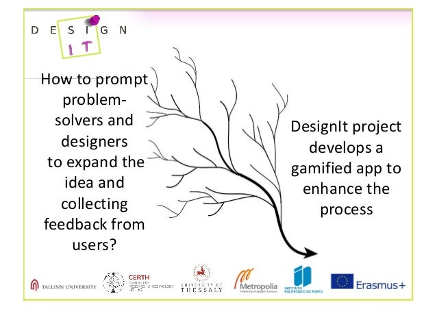 Howtoprompt problem- solversand designers toexpandthe ideaand collecting feedbackfrom users? DesignIt project...