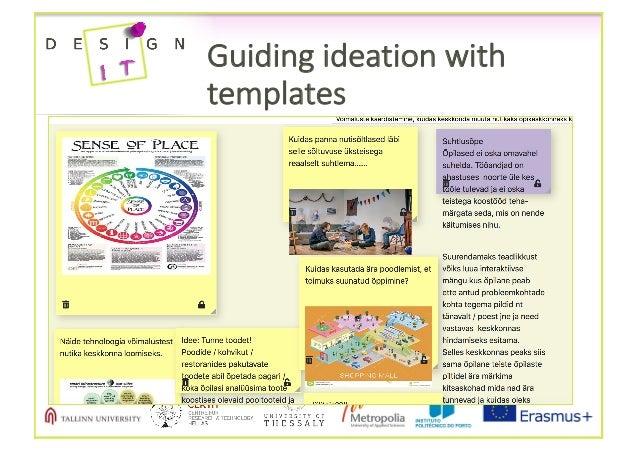 Guidingideationwith templates