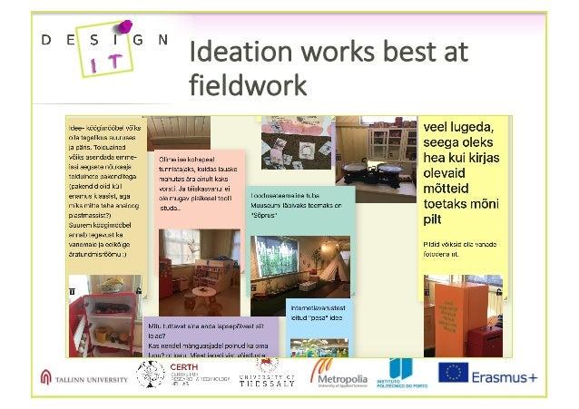 Ideationworksbestat fieldwork