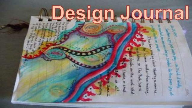 Design journal exemplars