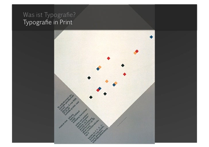 Was ist Typografie?Typografie in Print<br />