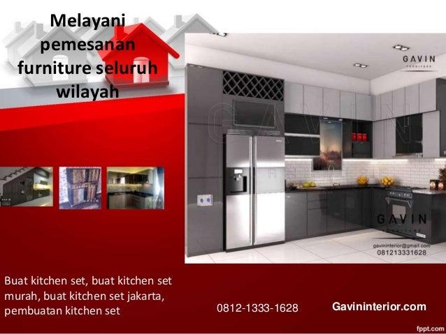 Design Kitchen Set Minimalis Modern Finishing Hpl 081213331628