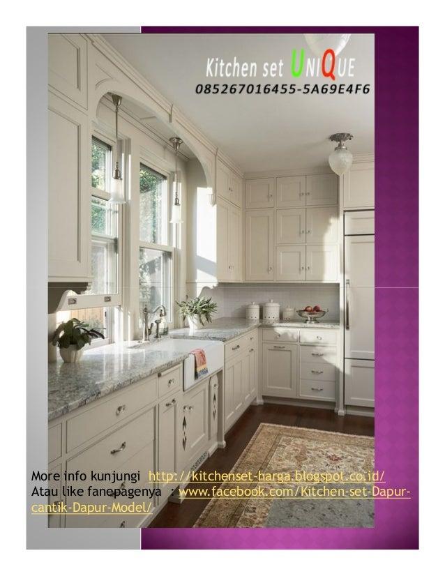 Design Kitchen Set Untuk Dapur Kecil Harga Kitchen Set Gantung Kitc