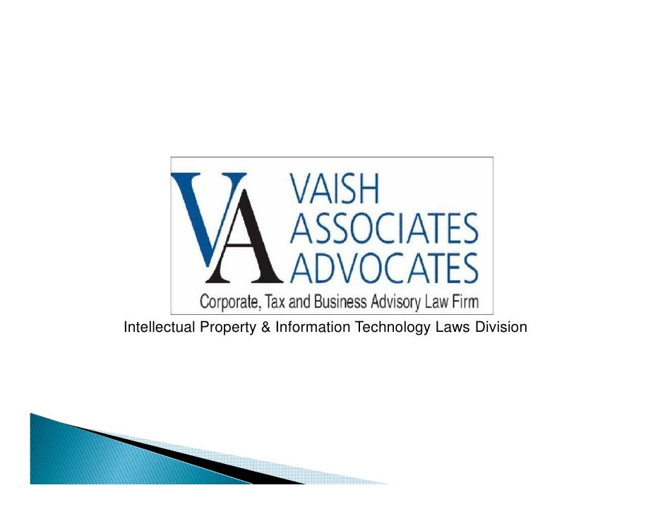 Intellectual Property & Information Technology Laws Division