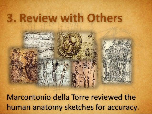 Leonardo Lessons:Sketches Need:1. Picture2. Description3. Arrows4. Annotations5. Labels