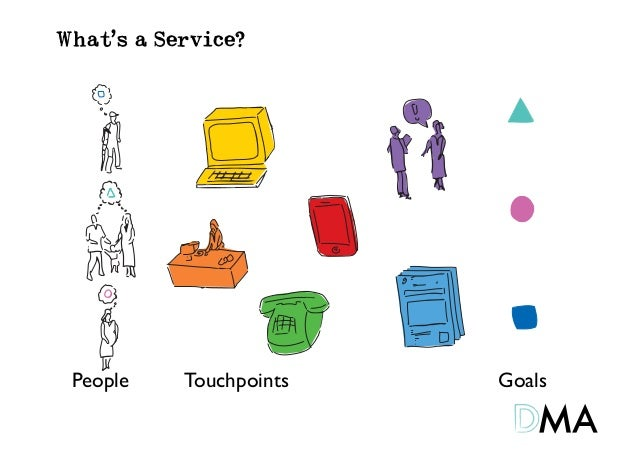 What's a Service? People   Touchpoints   Goals