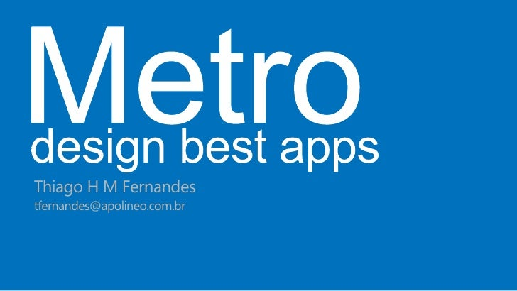 Thiago H M Fernandestfernandes@apolineo.com.br