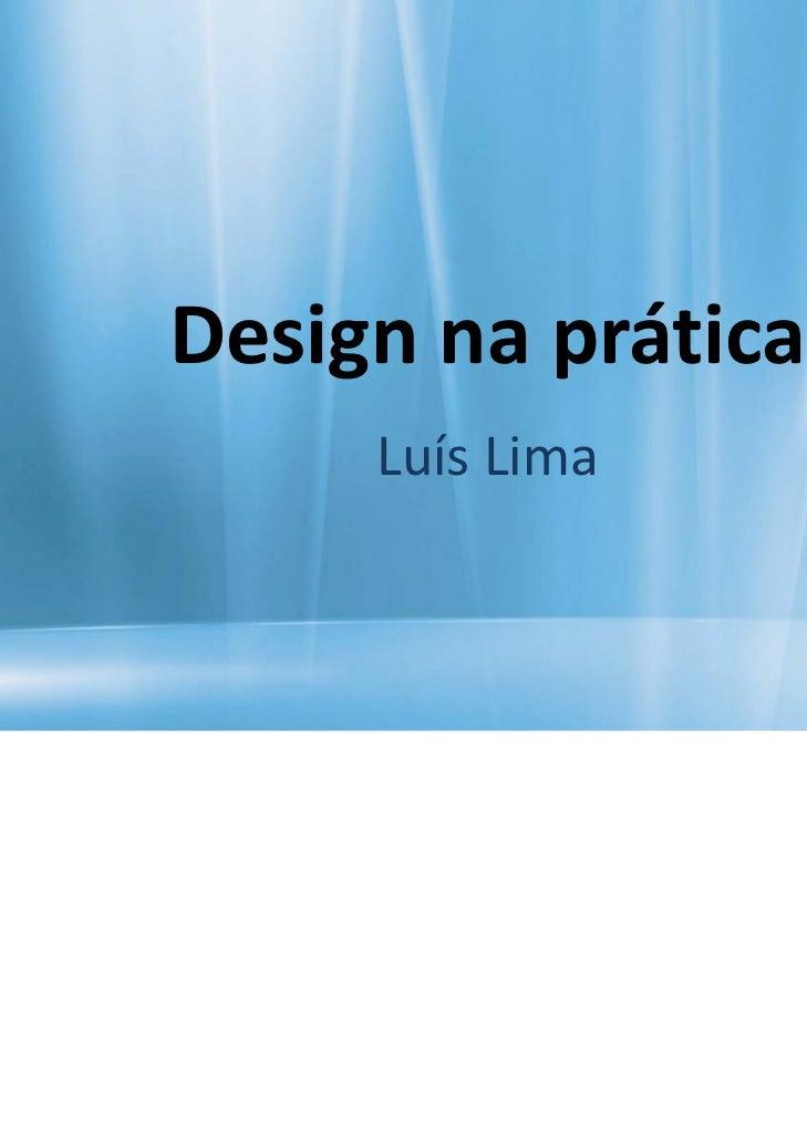 Designnaprática     LuísLima