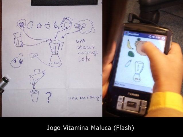 Jogo Vitamina Maluca (Flash)