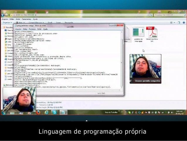 Linguagem de programação própria