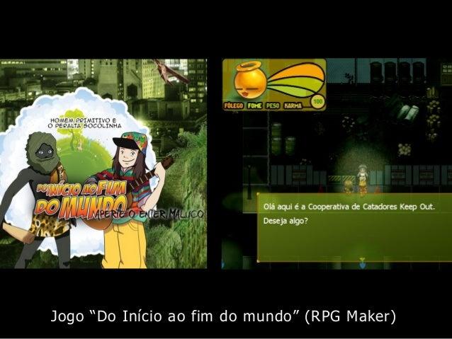 """Jogo """"Do Início ao fim do mundo"""" (RPG Maker)"""