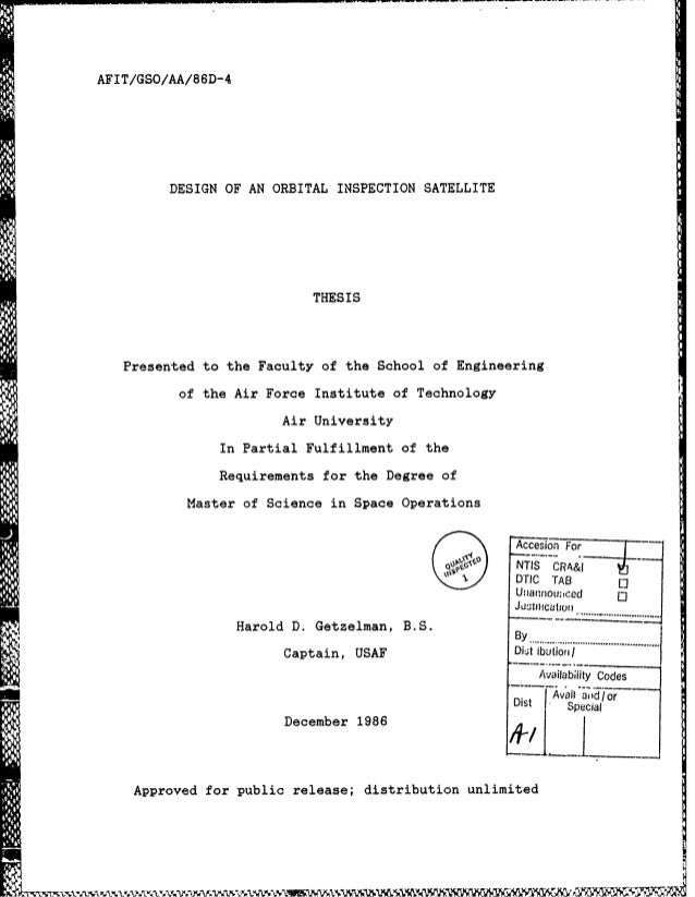 afit thesis template