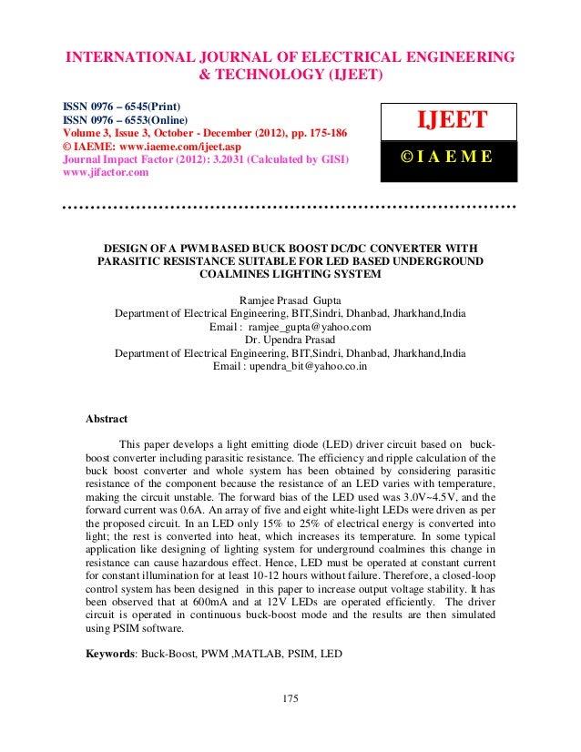INTERNATIONALVolume 3,Engineering and ELECTRICAL ENGINEERING  International Journal of Electrical  ISSN 0976 – 6553(Online...