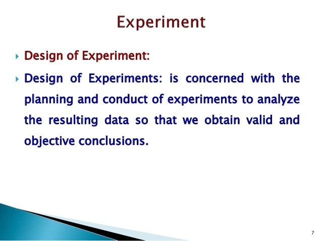 Pharmaceutical design of experiments for beginners for How to plan and design an experiment