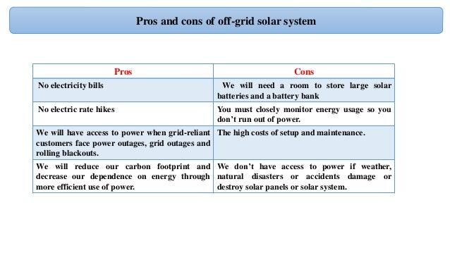 Design Off Grid Solar Pv System