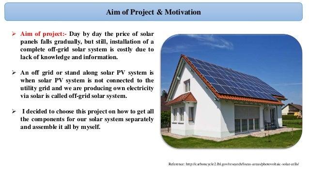 Photos Of Off Grid Solar Pv System Design