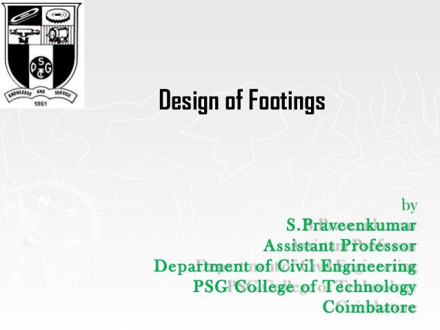 Design of footing as per IS 4562000 – Spread Footing Design Spreadsheet