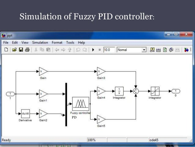 Design Of Fuzzzy Pid Controller For Bldc Motor