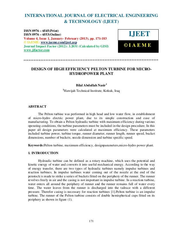 INTERNATIONAL JOURNAL OF ELECTRICAL ENGINEERING International Journal of & TECHNOLOGY (IJEET) (IJEET), ISSN 0976 –        ...