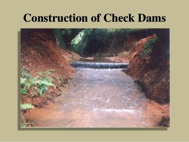 Construction of Check Dams