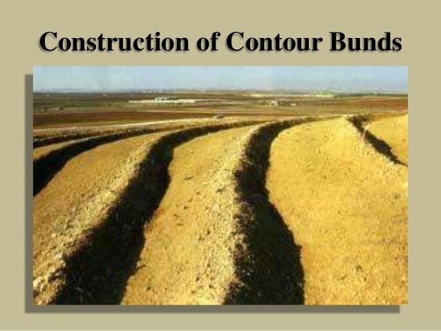 Construction of Contour Bunds