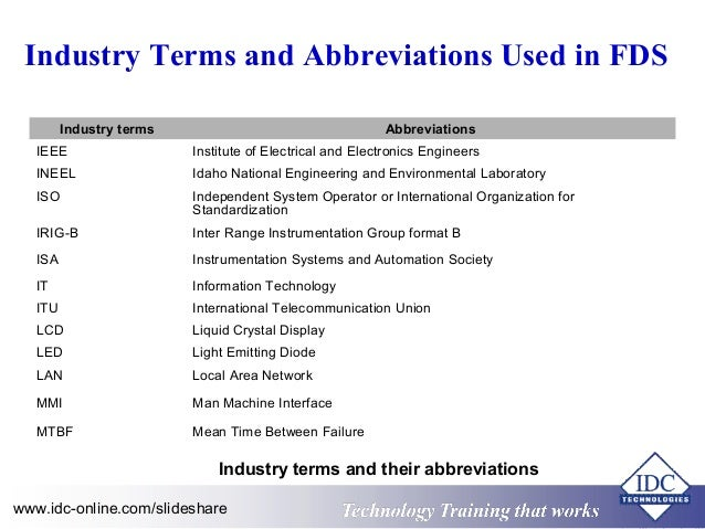 electrical engineering abbreviations list pdf