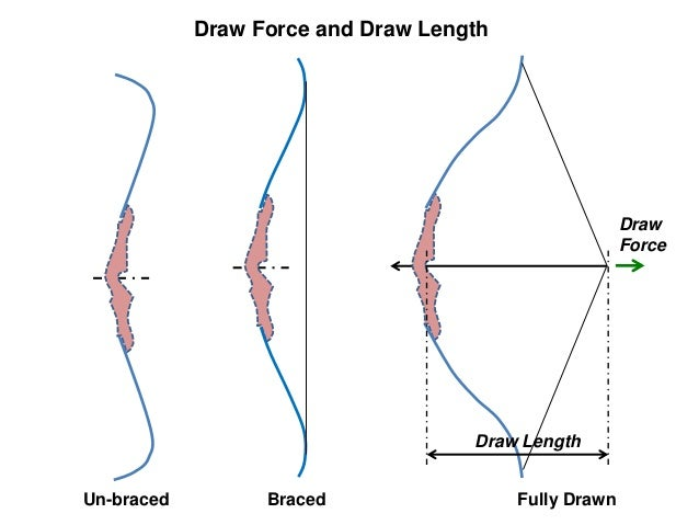 recurve bow diagram shooting t