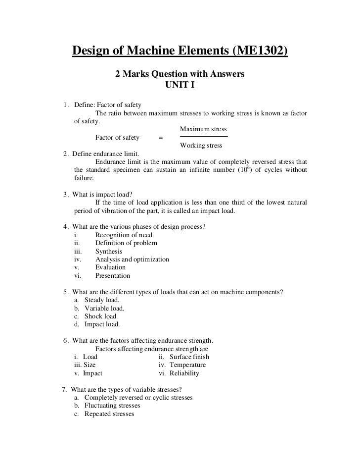 machine design khurmi solution manual pdf