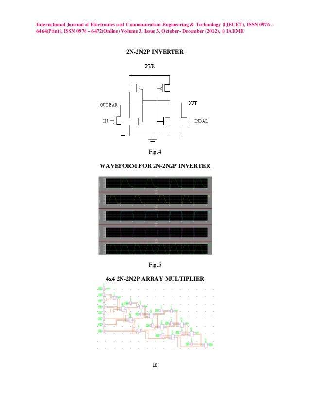 Design of power efficient 4x4 array multiplier using