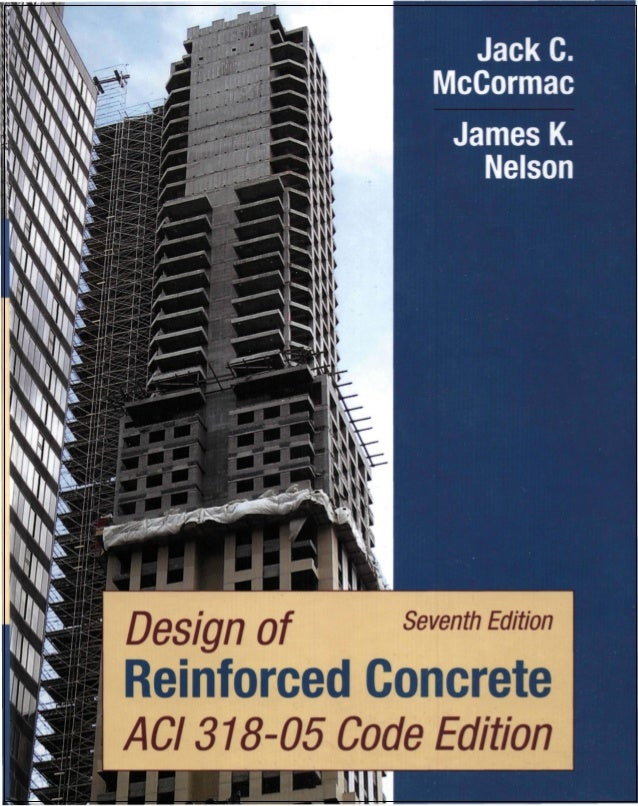 Design of reinforced concrete as per aci 318