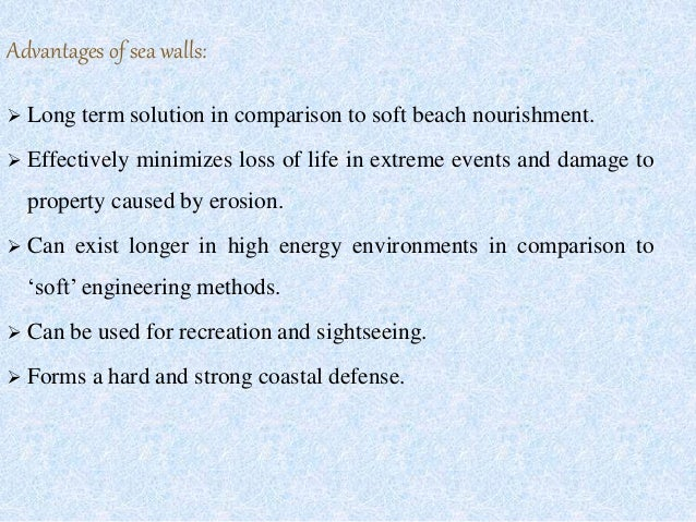Design Of Rubble Mound Seawall