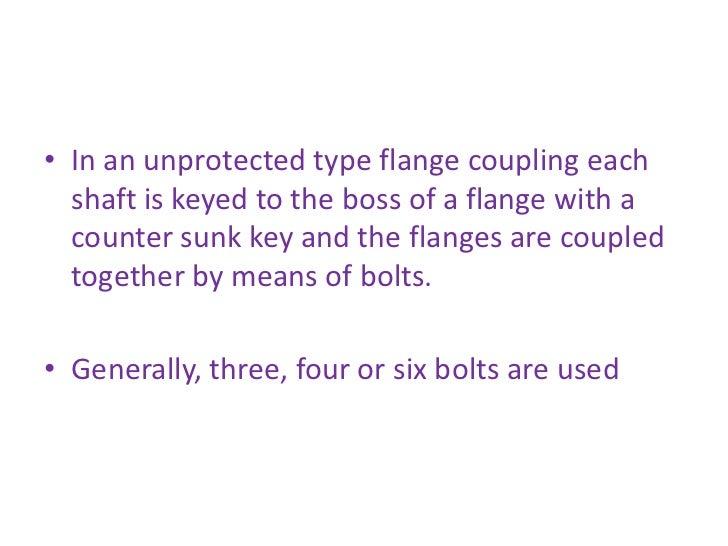 Design of shafts couplings ppt