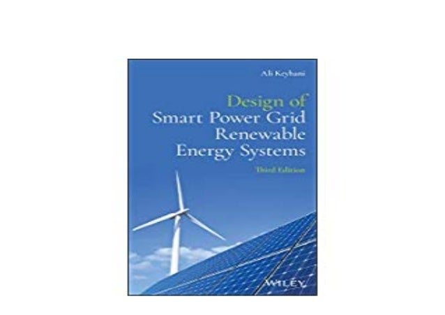 E Book Harcover Library Design Of Smart Power Grid Renewable Energy S