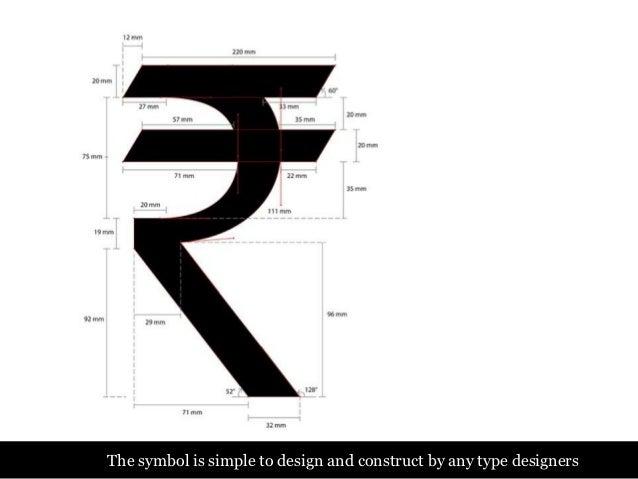 Design Of The Indian Rupee Symbol