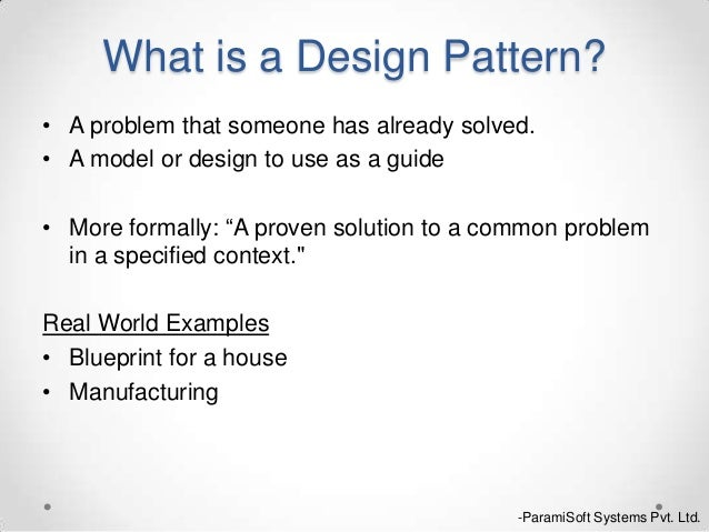 Design Pattern Abstract Factory Singleton Simple What Is Pattern