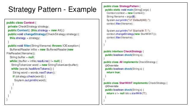java observer design pattern application
