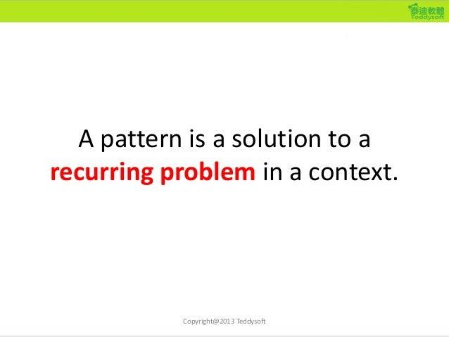 An Example, Take 3 • Context: 你是經營線上遊戲的業者。 • Problem: 線上遊戲的市場競爭非常激烈,玩 家的選擇很多,因此傳統需要先付費才可以 玩的遊戲模式,要玩家在尚未入迷之前就先 付費變得越來越困難。要如...