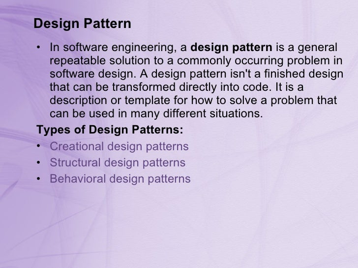 Design Pattern For C Part 1