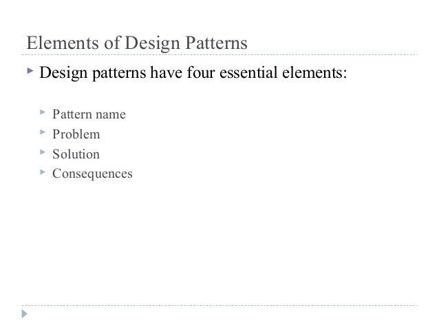 Design pattern & categories Slide 3