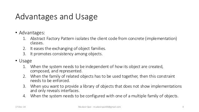 Difference Between Factory Design Pattern And Abstract Design Pattern